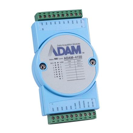 کارت ADAM 4150 - ماژول 15 کانال دیجیتال با مدباس