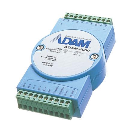 کارت ADAM-4050 - ماژول 15 کاناله I/O دیجیتال