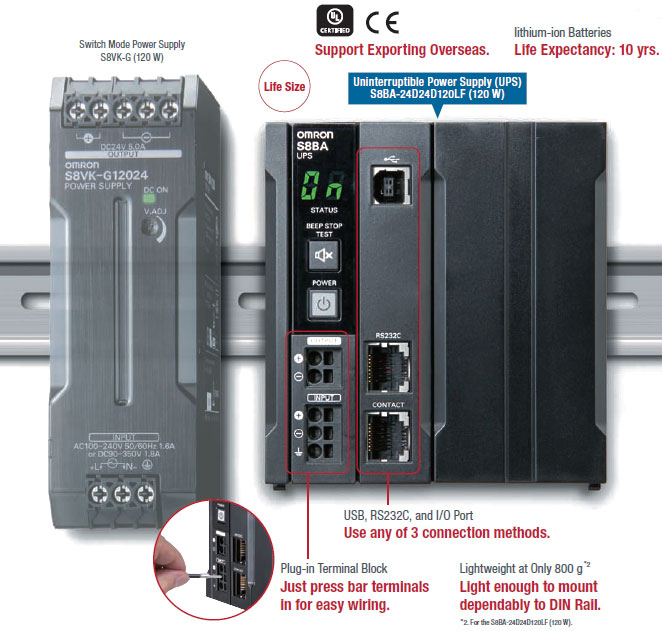 S8BA Power Supply