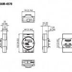 CIMR-VBBA0010 – اینورتر V1000 تک فاز 220 ولت 1.5 کیلو وات
