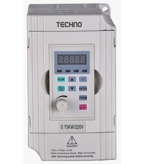 اینورتر Techno مدل TC100-00150S2ولتاژ ۲۳۰ ولت تک فاز توان  ۱٫۵ کیلو وات